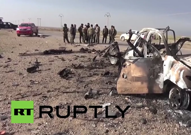 Iraq: See aftermath of Iraqi Army ground operation against IS