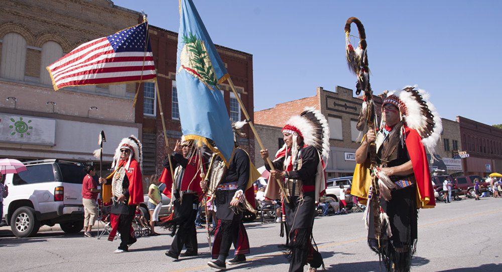 84th Annual American Indian Exposition Parade 2015