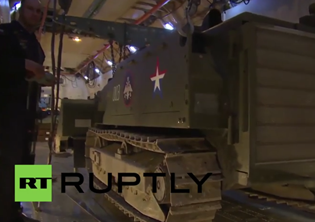 Syria: Russian bomb disposal vehicles deployed in liberated Palmyra