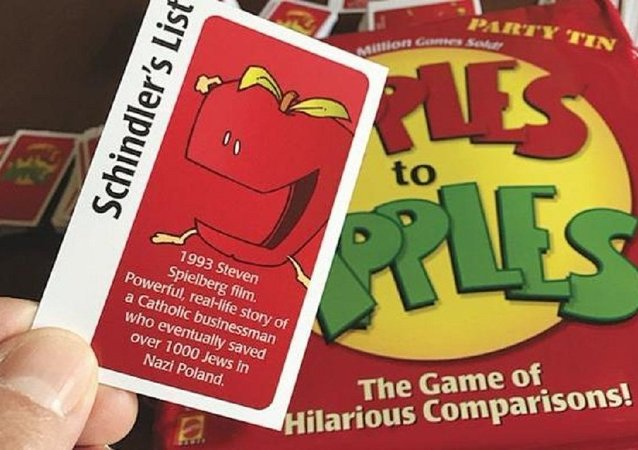 "Игра ""Apples to apples"""