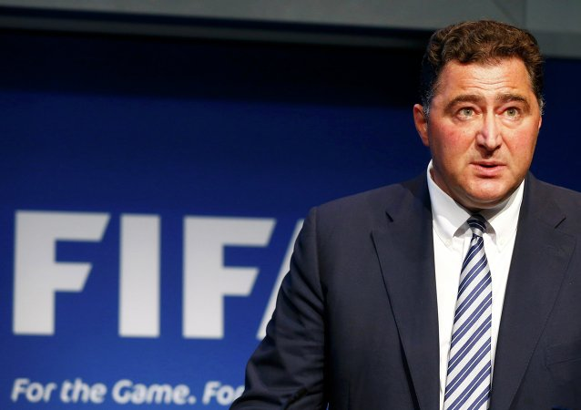 Domenico Scala, Chairman of the FIFA's Audit and Compliance Committee addresses a news conference at the FIFA headquarters in Zurich, Switzerland, June 2, 2015