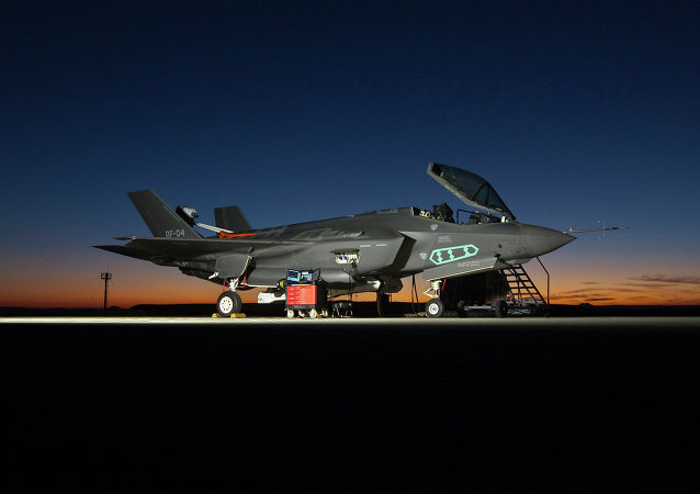 F-35A Lightning II fighter aircraft